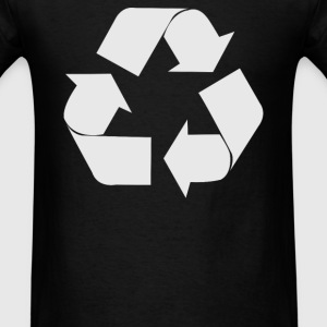 Recycle Symbol - Men's T-Shirt