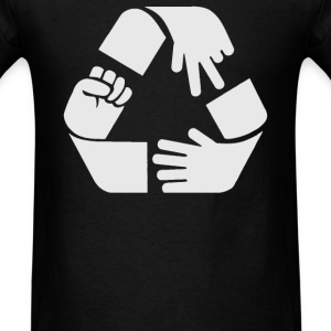Rock Paper Scissors Cycle - Men's T-Shirt