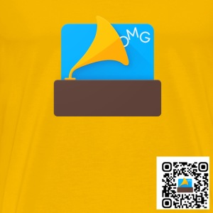 OMGSoundboard (QR version) - Men's Premium T-Shirt