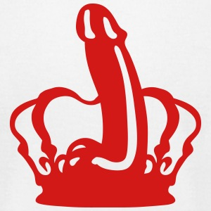 royal crown man sex dildo 501 T-Shirts - Men's T-Shirt by American Apparel