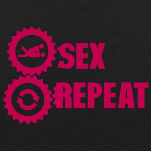repeat sex love icon Sportswear - Men's Premium Tank