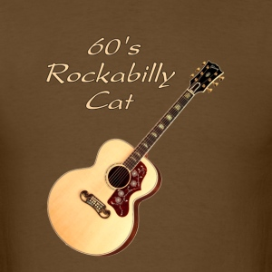 60's Rockabilly Cat - Men's T-Shirt