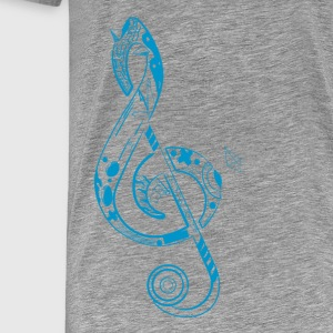 Clef Note - Men's Premium T-Shirt