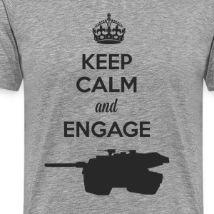 Keep Calm and Engage (D) T-Shirts - Men's Premium T-Shirt