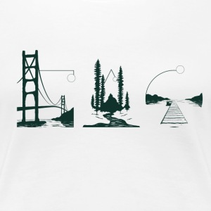Coast Through Coast T-Shirts - Women's Premium T-Shirt