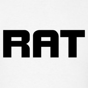 rat black - Men's T-Shirt