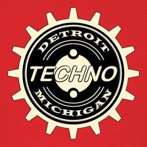 detroit techno - Men's T-Shirt