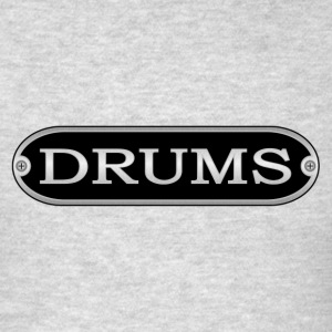 drums metal - Men's T-Shirt
