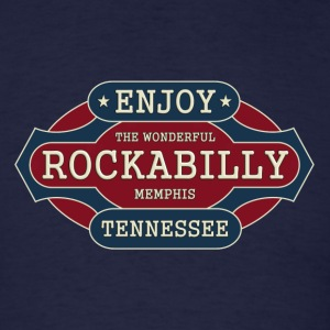 enjoy rockabilly - Men's T-Shirt