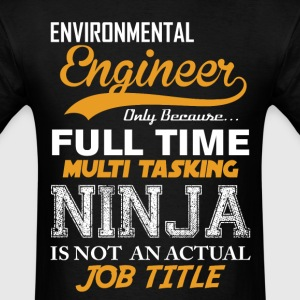 Engineer Ninja Job Title T-Shirts - Men's T-Shirt