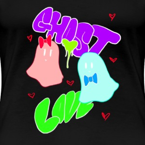 GhostLove (No Background) T-Shirts - Women's Premium T-Shirt