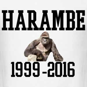 HARAMBE 1999-2016 T-Shirts - Men's T-Shirt