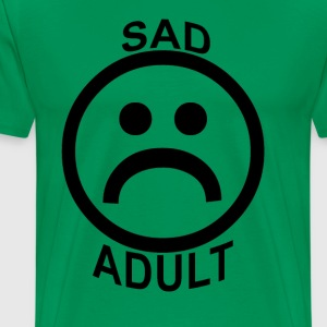 sad_adult_ - Men's Premium T-Shirt