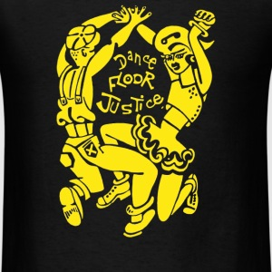 Dance Floor Justice Record - Men's T-Shirt