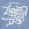 Laser Lab - Design - Unisex Tri-Blend T-Shirt by American Apparel