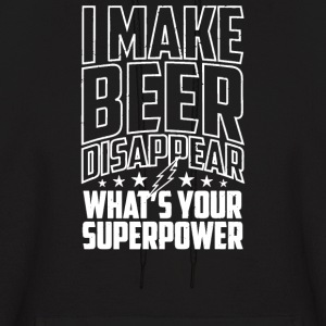 I Make Beer Disappear - Men's Hoodie