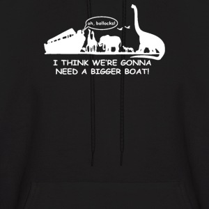 I Think We're Gonna Need A Bigger Boat - Men's Hoodie