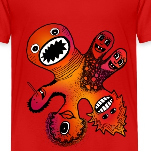 Six Headed Monster Baby & Toddler Shirts - Toddler Premium T-Shirt