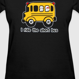 I Ride The Short bus - Women's T-Shirt