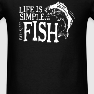 Life is Simple - Men's T-Shirt