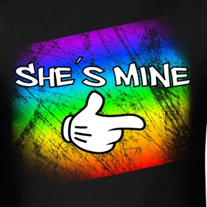 she is mine T-Shirts - Men's T-Shirt