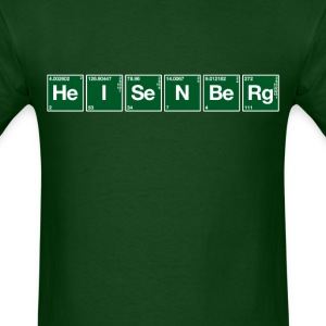 Atomic Symbol Heisenberg - Men's T-Shirt