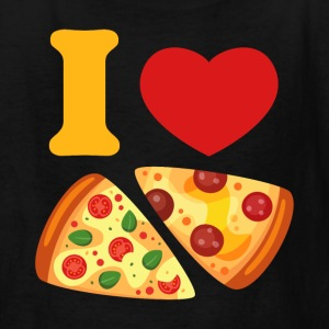 I Love Pizza Kids' Shirts - Kids' T-Shirt