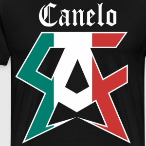 canelo black - Men's Premium T-Shirt