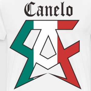 canelo white - Men's Premium T-Shirt