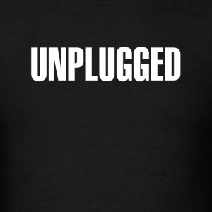 Unplugged White - Men's T-Shirt