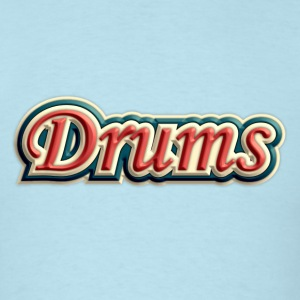 vintage drums - Men's T-Shirt
