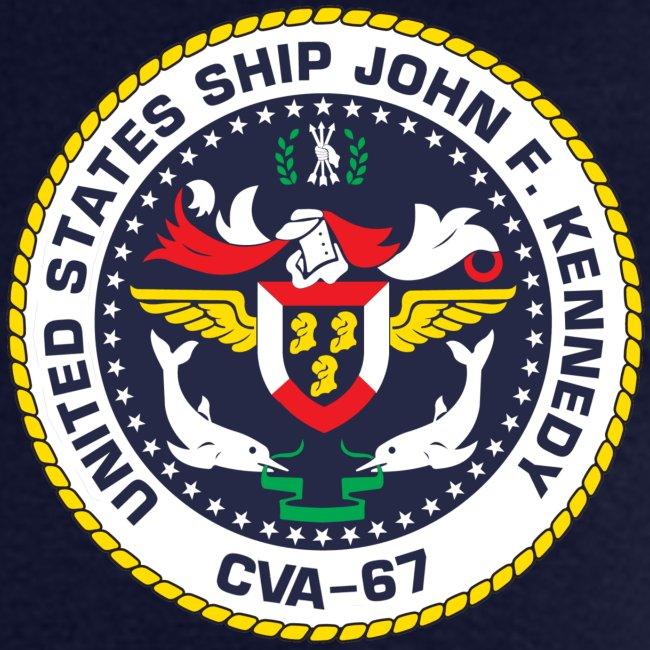 USS JOHN F KENNEDY CVA-67 MED CRUISE 1969 CRUISE SHIRT