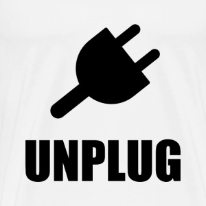 Unplug Technology - Men's Premium T-Shirt