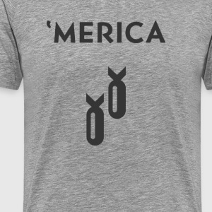 'Merica: Bombs - Men's Premium T-Shirt