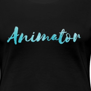 Animator Woman's T-shirt - Women's Premium T-Shirt