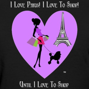 Paris Lady Shopping - Women's T-Shirt