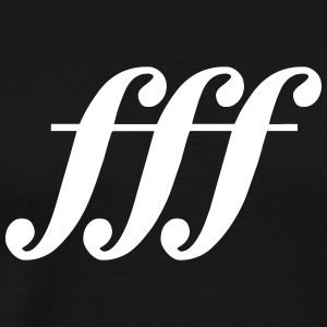 fff - fortississimo / T-Shirt - Men's Premium T-Shirt