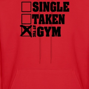 Single Taken At the Gym - Men's Hoodie