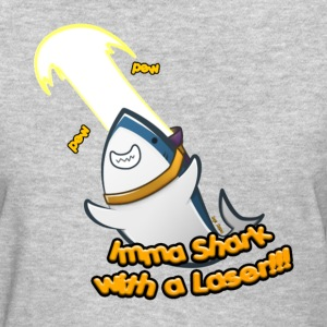 Laser Shark! (Women's) - Women's T-Shirt
