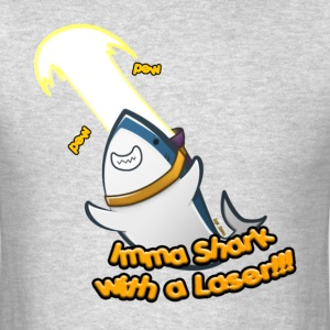 Laser Shark! (Men's) - Men's T-Shirt
