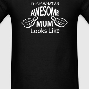Awesome Mum - Men's T-Shirt