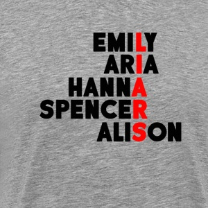 Pretty Little Liars T-Shirts - Men's Premium T-Shirt