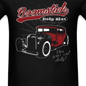 Boomstick Body Wax Your Rod Daily - Men's T-Shirt