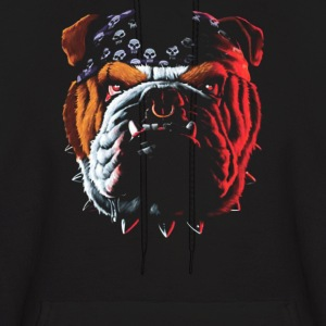 Bulldog Puppy Dog Big - Men's Hoodie