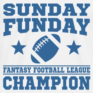 Fantasy football champion t shirts spreadshirt for Fantasy football league champion shirt