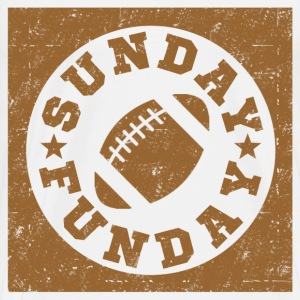 SUNDAY FUNDAY FOOTBALL8.png T-Shirts - Men's Premium T-Shirt