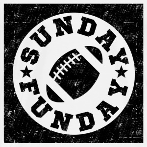 SUNDAY FUNDAY FOOTBALL6.png T-Shirts - Men's Premium T-Shirt