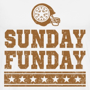 SUNDAY FUNDAY FOOTBALL 3.png T-Shirts - Men's Premium T-Shirt