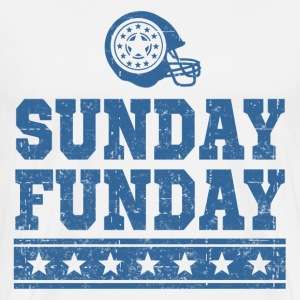 SUNDAY FUNDAY FOOTBALL4.png T-Shirts - Men's Premium T-Shirt