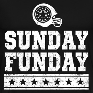 SUNDAY FUNDAY FOOTBALL 2.png T-Shirts - Men's Premium T-Shirt